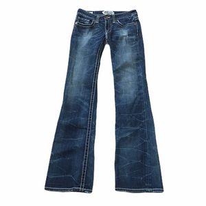 "Big Star ""Casey"" low rise boot cut jeans. Sz 25"